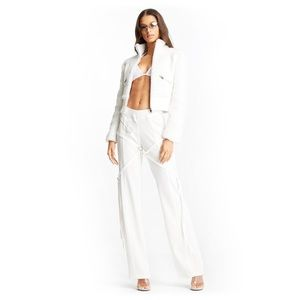 I AM GIA Trixie Cropped Shearling Jacket